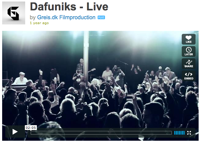 Dafuniks - Video live